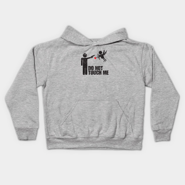 Everyone Loves Me Youth Fleece Crewneck Sweater Who Needs Cupid