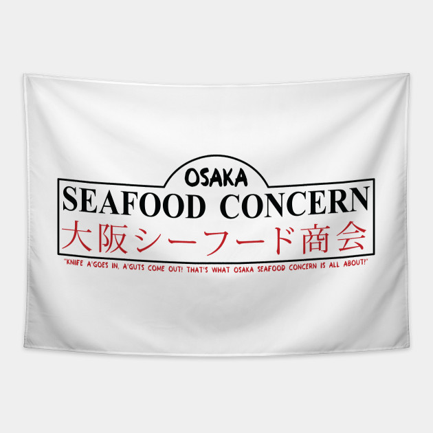 Osaka Seafood Concern (Black Text)