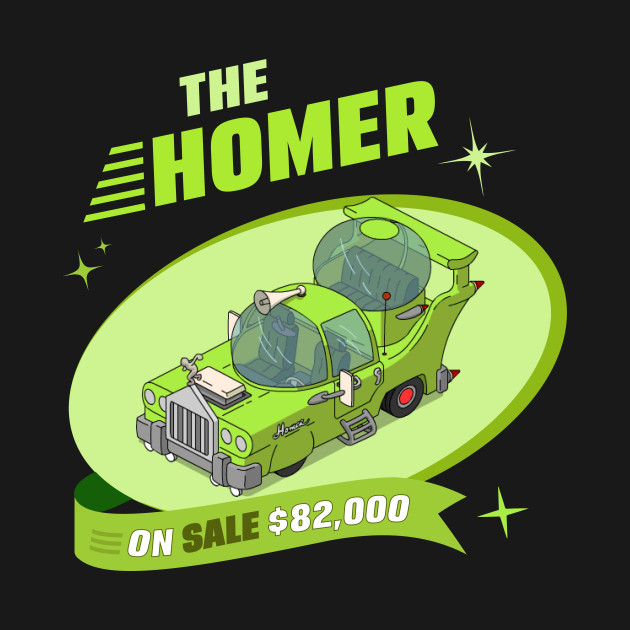 The Homer Car The Simpsons