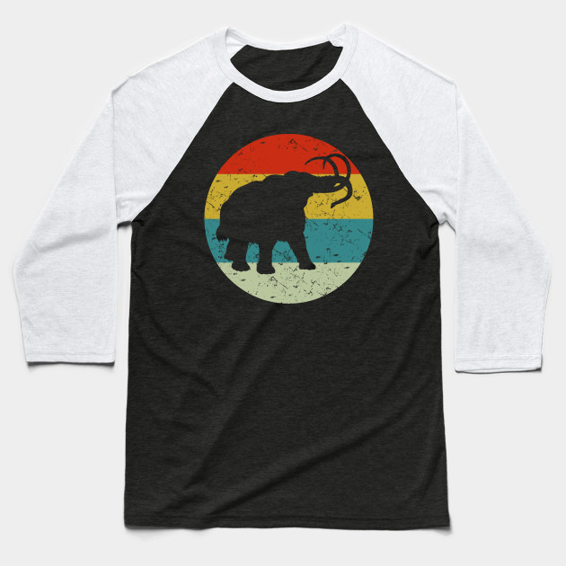 retro vintage elephant Baseball T-Shirt