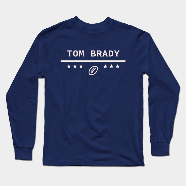 cd553bff79cc39 Tom Brady 6 Rings Champ - Tom Brady - Long Sleeve T-Shirt