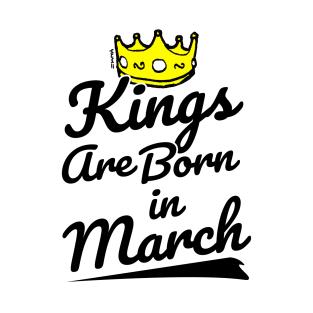March Birthday Men T Shirts