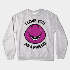 Barney Dinosaur Crewneck Sweatshirts   TeePublic