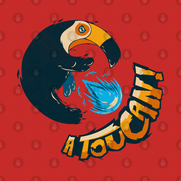 A Toucan Hadouken! - Inspired by Street Fighter