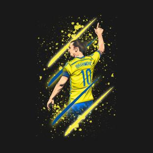 Zlatan Ibrahimović t-shirts