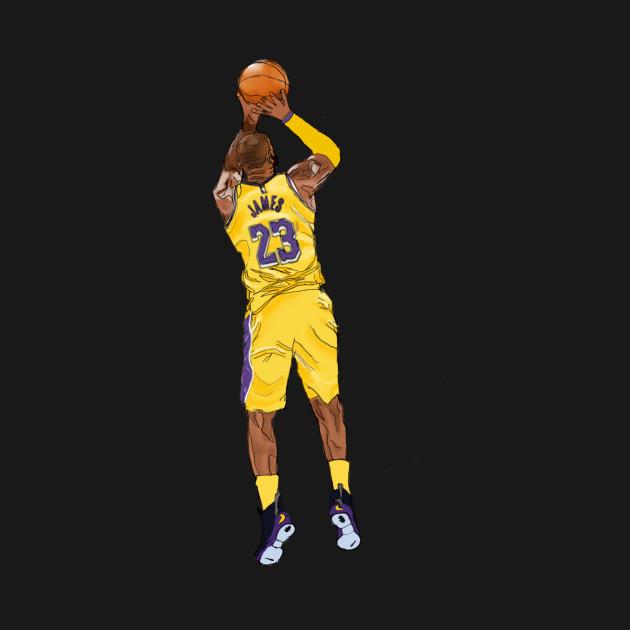 Lebron jumpshot