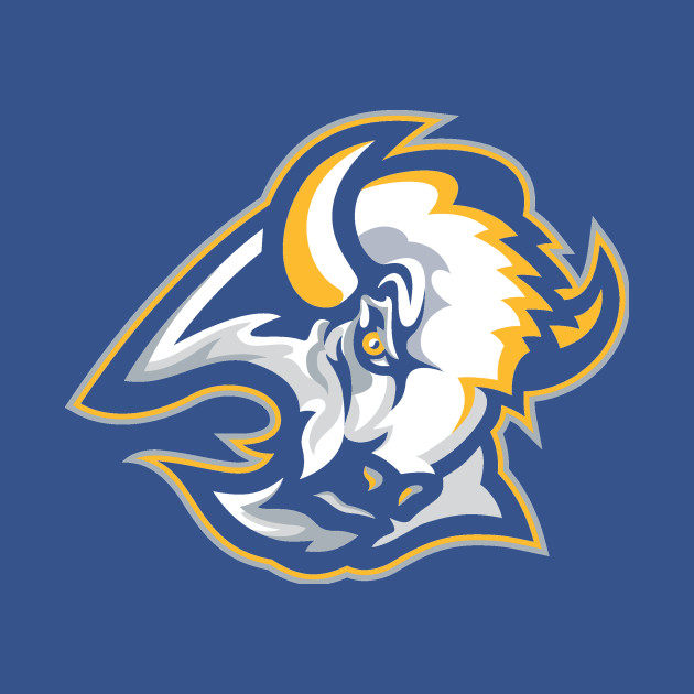 f70247773 Goathead in Blue and Gold - Buffalo Sabres - T-Shirt