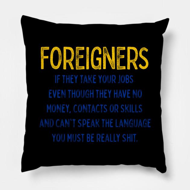 1dc06191 Brexit T Shirt Funny Remain EU No Deal T-Shirt - Brexit - Pillow ...