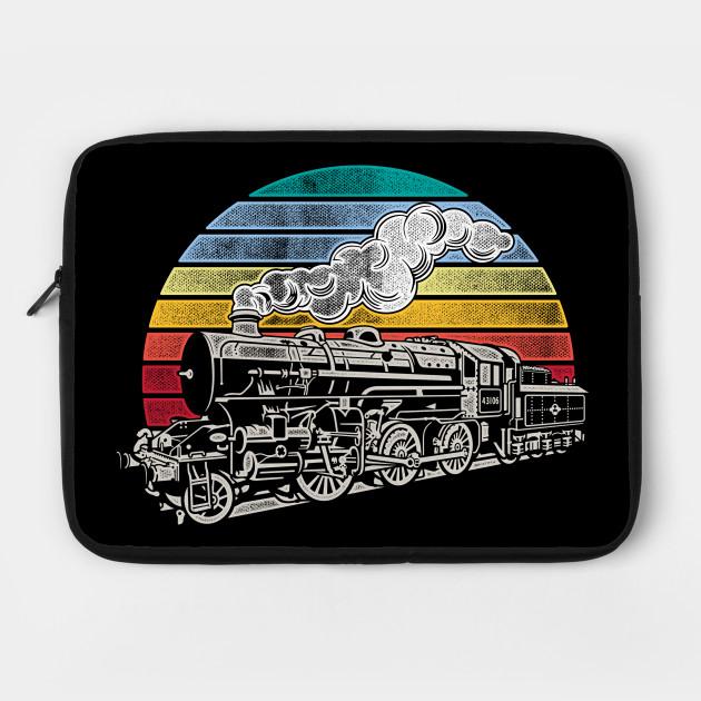 Vintage Steam Train Retro Train Lovers Gift