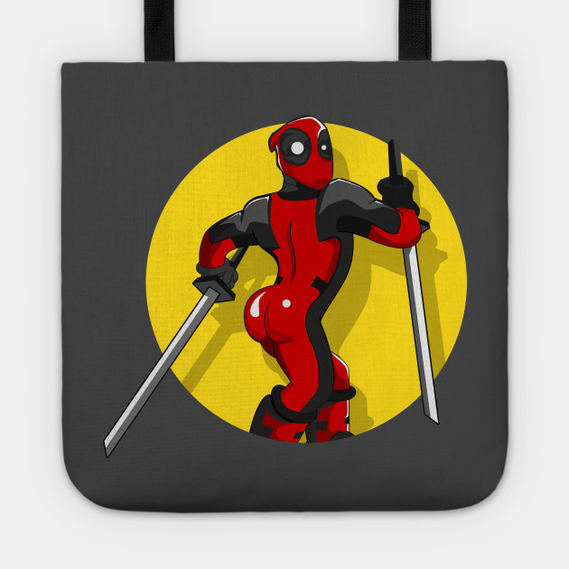 Stupid Sexy. Deadpool Sticker