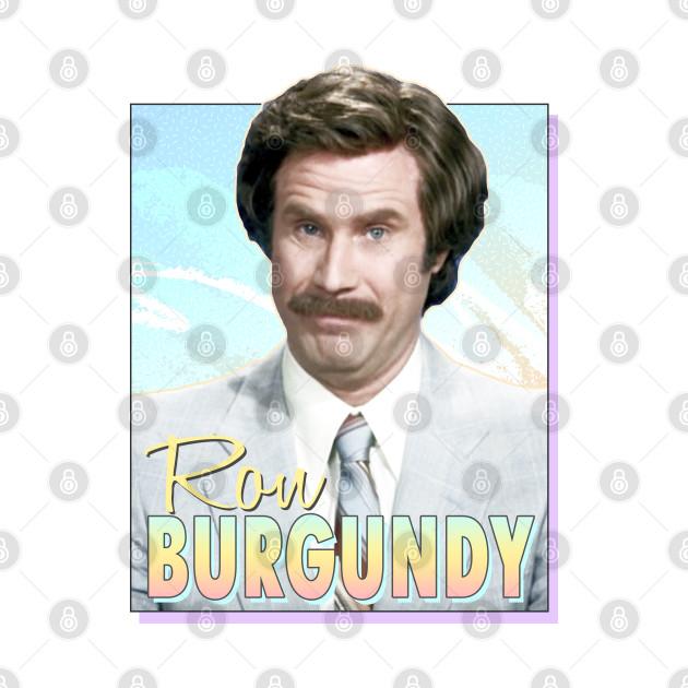 Ron Bugundy /// Retro Design