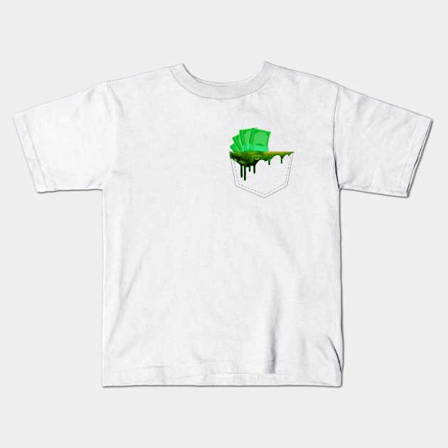 Funny Pocket Money T-shirt Design Idea