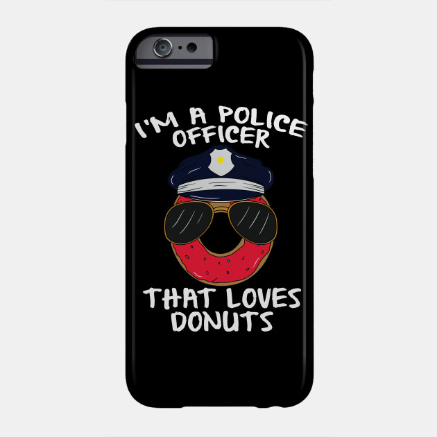 Donut Cop Funny I Love Donuts Police Officer Gifts