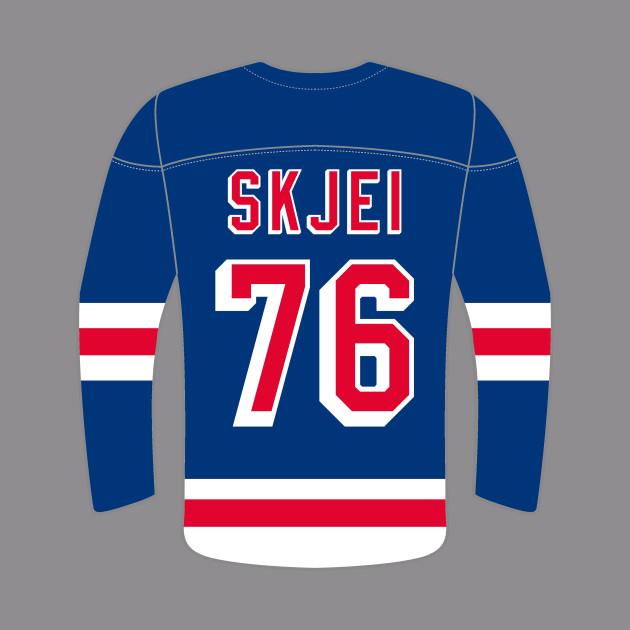 New York Rangers - Brady Skjei - New York Rangers - Hoodie  63351edbe