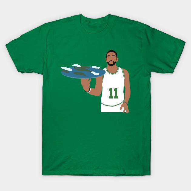 f385c8035 Kyrie Irving Flat Earth Celtics - Kyrie Irving - T-Shirt