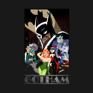 Gotham Nights - Batman t-shirts