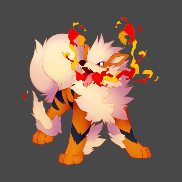 Arcanine pokemon go arcanine fire blast t shirt - Arcanine pics ...