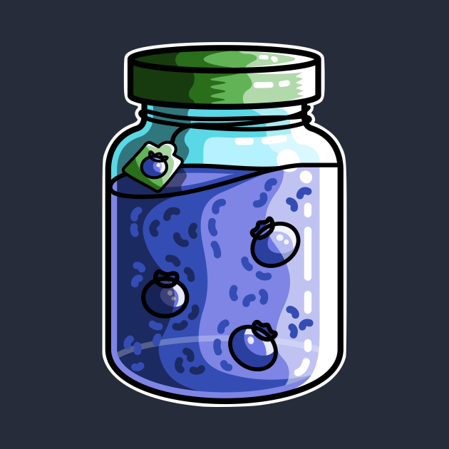 Cute Blueberry Jam