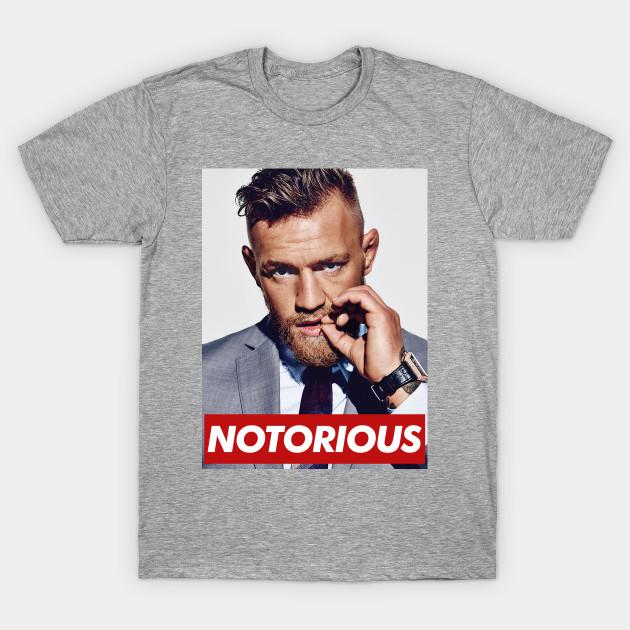 bd46cfb93bee CONOR MCGREGOR - NOTORIOUS - Conor Mcgregor - T-Shirt | TeePublic