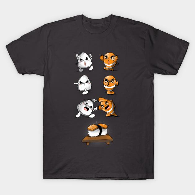 Sushi Gift Japon/és Sashimi Anime Sushi Fusion Camiseta