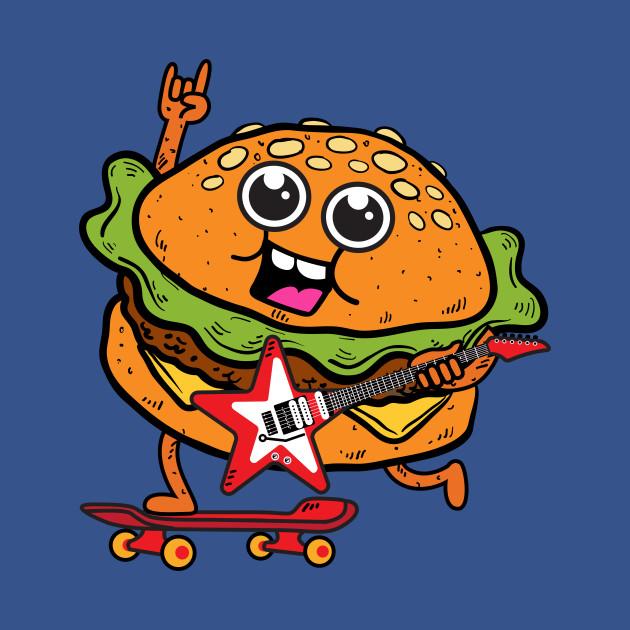 Skater Burger Rocks