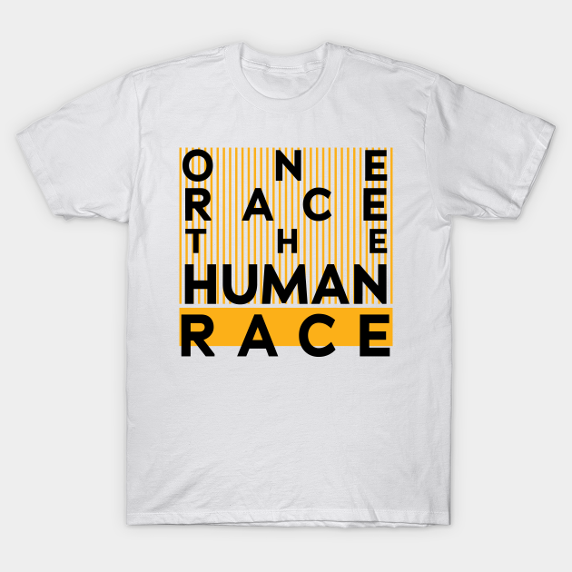 Standard Unisex T-shirt Details about  /One Race The Human