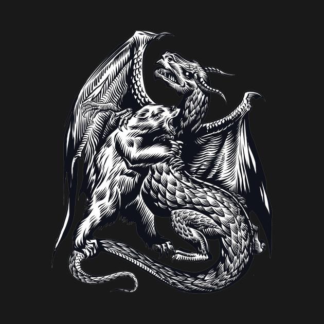 Bear Vs Dragon