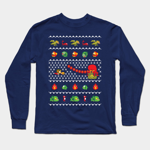 Alex Kidd In Christmas World Gaming Ugly Sweater Christmas