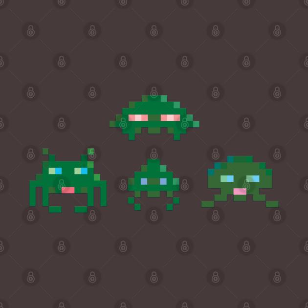 Retro gaming Space Invader