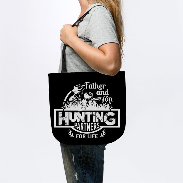 Father and son hunting tshirt