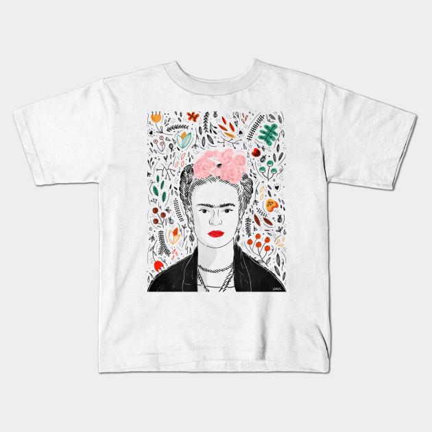 e9bf5151181 Frida Kahlo - Frida Kahlo - Kids T-Shirt
