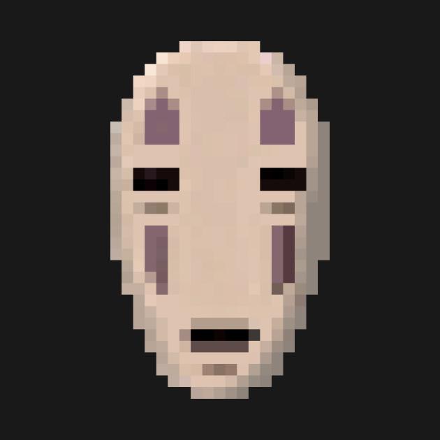 No-Face Pixel Art - Spirited Away - T-Shirt