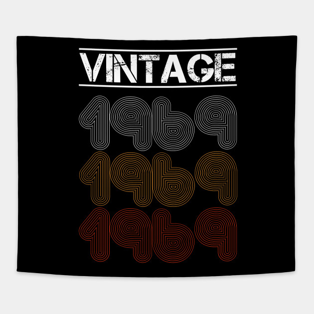 Vintage Cool Birthday Gift For 1969 Edition Men And Women Tees