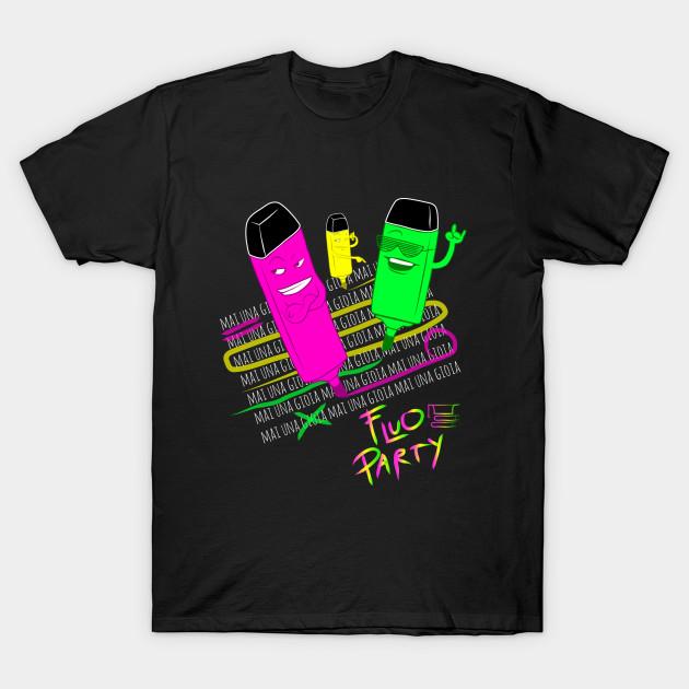 magasin en ligne chercher charme de coût Fluo Party #mainagioia