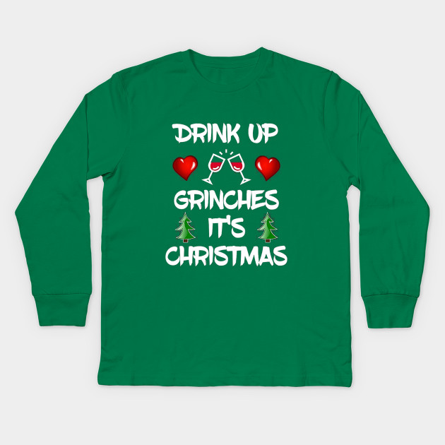 Drink Up Grinches Ugly Christmas Sweater Drink Up Grinches Ugly