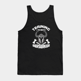 1e734514198 Bodybuilders Gym Weightlifting Fitness Weights Exercise Training Berserker  Barbells Gift Tank Top