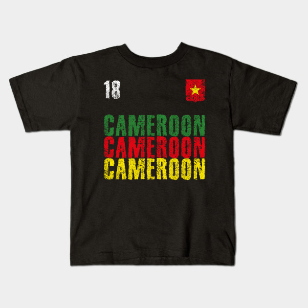 Cameroon text Kids T-Shirt