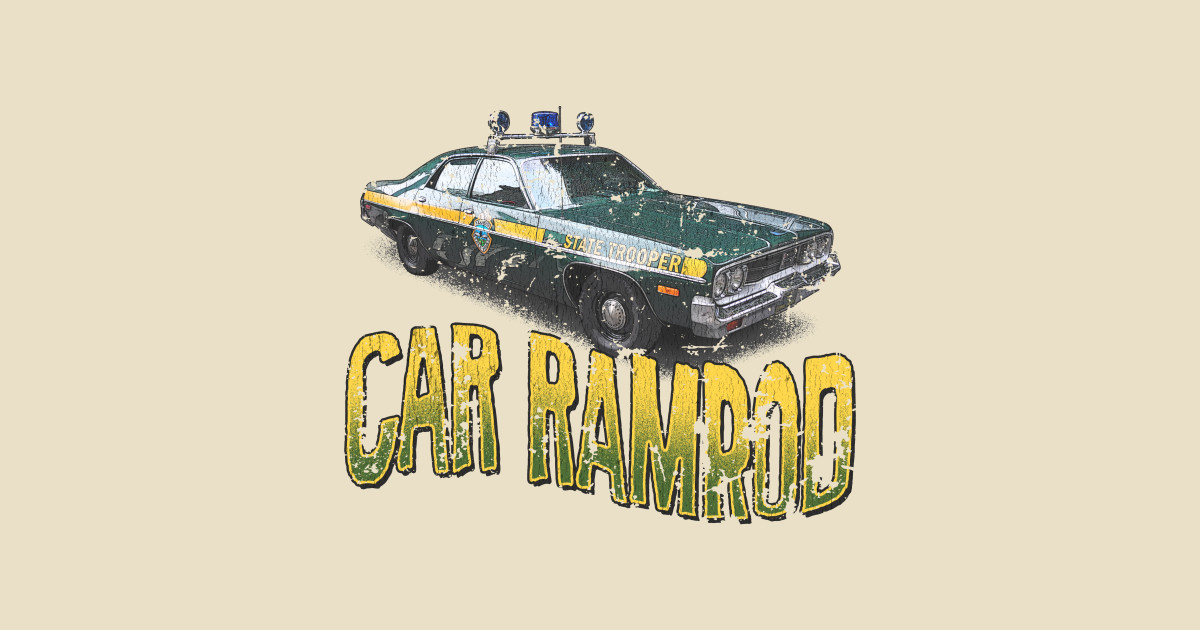 Car Ramrod - Vintage - Super Troopers - Tank Top
