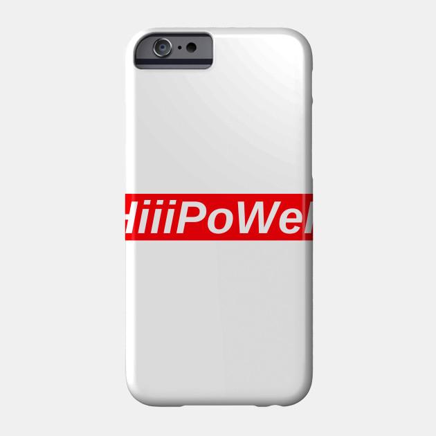 HiiiPoWeR // Red Box Logo