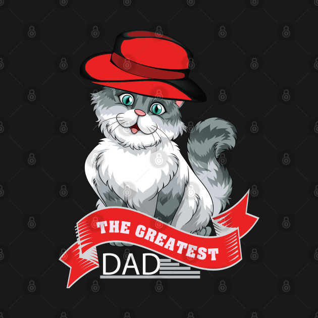 The greatest dad cat