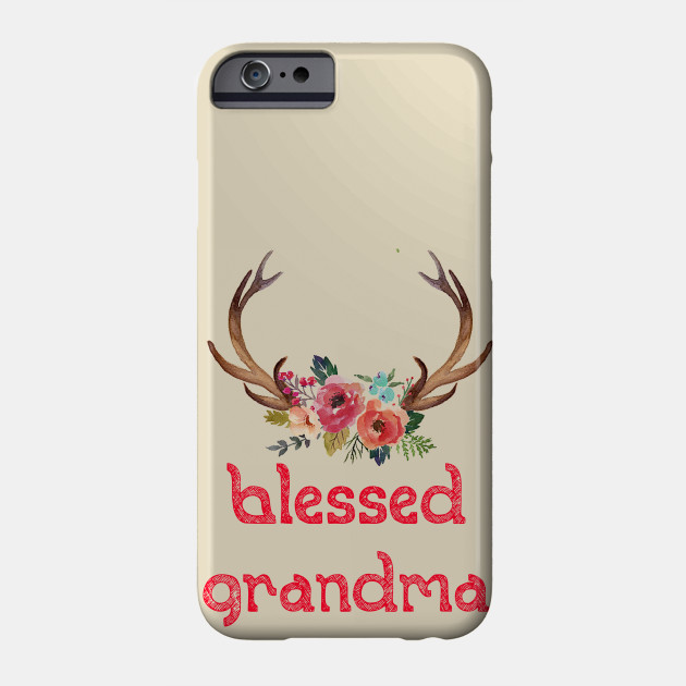 blessed grandma best gift for grandma Phone Case
