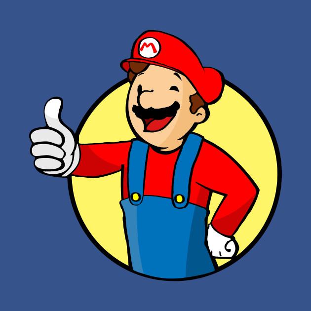 Super Mario Vault Boy
