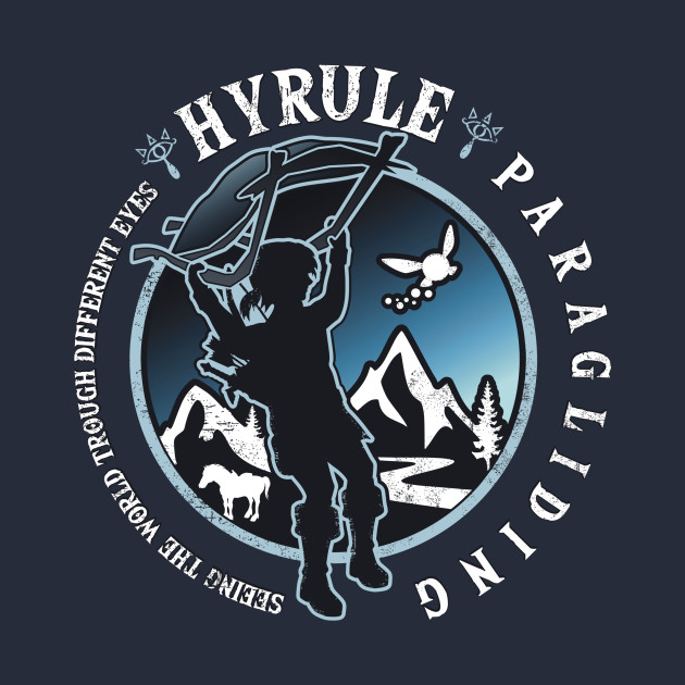 Hyrule Paragliding