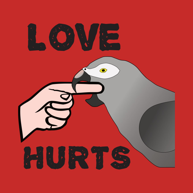 Love Hurts - Timneh African Grey Parrot