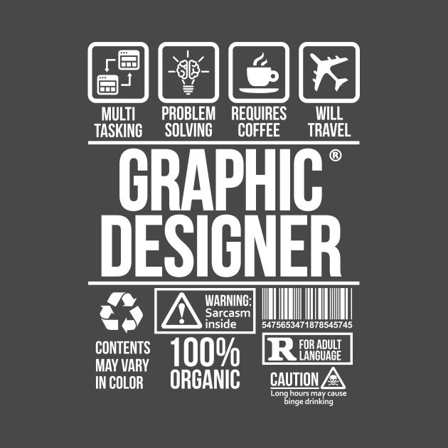 Graphic designer T-shirt | Job Profession | #DW