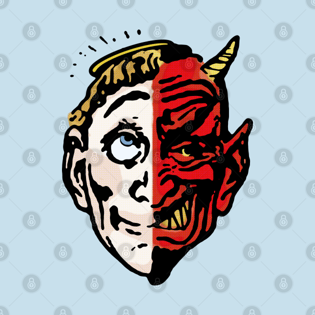 Saint Sinner Mask T-shirt
