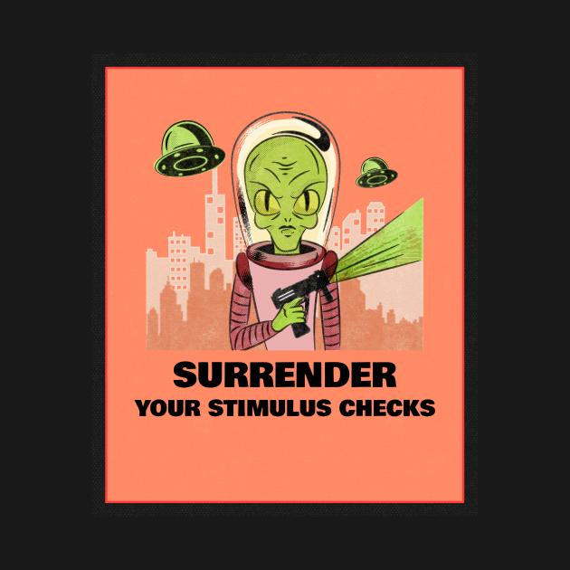 Surrender your stimulus checks