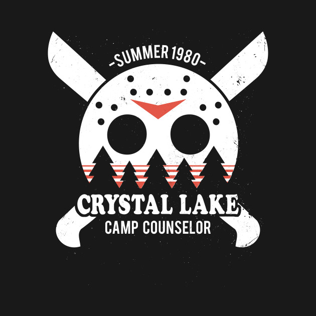 4d2c2520211f Crystal Lake Camp Counselor - Friday The 13th - T-Shirt