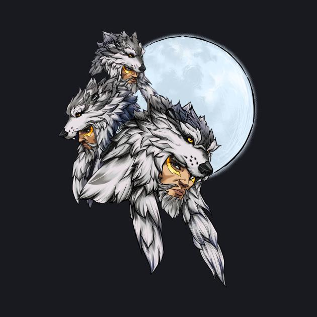 Three Wolf Moon - Hanzo