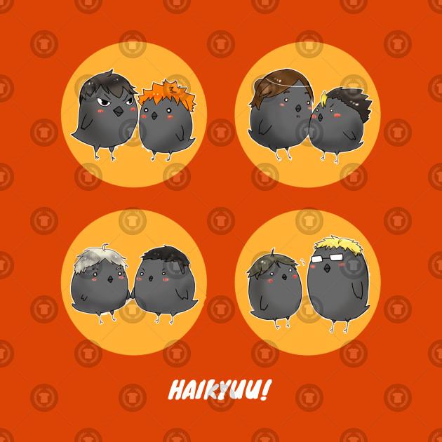 Haikyuu Little Round Crows